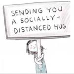 Socially Distant Hug